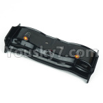 DHK Zombie Parts-8383-002 Rear wing,Tail wing(Black)-(Can also be used for8381 8383 8384)