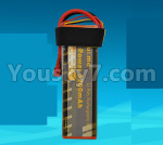 DHK Zombie Parts-H106 P117-01 Upgrade 11.1V 5200mah battery,Size is perfect,Run more time(1pcs)