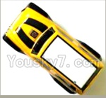 FQ777 HOPPER 9014 spare Parts-27-01 S1510B000 Car canopy,Shell cover-Yellow