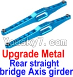 FeiYue FY-01 FY01 Parts-12-02 Upgrade Metal Rear straight bridge Axis girder for the Rear Swing Arm(2pcs)