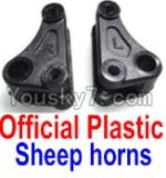 FeiYue FY-01 FY01 Parts-15-01 F12034-035 Official Plastic sheep horns(2pcs)