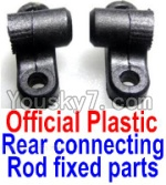 FeiYue FY-01 FY01 Parts-17-01 F12040-041 Official Plastic Rear connecting rod fixed parts(2pcs)