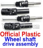 FeiYue FY-01 FY01 Parts-34-01 FY-CD01 Official Plastic Wheel shaft drive assembly(2 set)