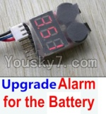 FeiYue FY-01 FY01 Parts-35-04 Upgrade Alarm for the Battery,Can test whether your battery has enouth power