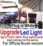 FeiYue FY-01 FY01 Parts-42-05 Upgrade Front and Rear light assembly-Can only be used for Official version,Plug is white