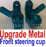 FeiYue FY-02 Spare Parts-10-01 F12008-011 Upgade Metal Front steering cup,Left and Right Universal joint(2pcs)