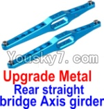FeiYue FY-02 Spare Parts-12-02 Upgrade Metal Rear straight bridge Axis girder for the Rear Swing Arm(2pcs)
