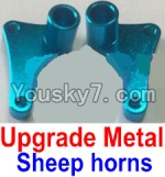 FeiYue FY-02 Spare Parts-15-02 F12034-035 Upgrade Metal sheep horns(2pcs)
