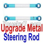 FeiYue FY-02 Spare Parts-21-08 F12027 Upgrade Metal Steering Rod(2pcs)