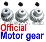 FeiYue FY-02 Spare Parts-25-01 FY-T22 T24 T26 Official Motor Gear(3pcs)