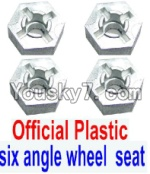 FeiYue FY-02 Spare Parts-28-01 W12006 Hexagonal wheel seat(4pcs)