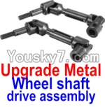 FeiYue FY-02 Spare Parts-34-02 FY-CD01 Upgrade Metal Wheel shaft drive assembly(2 set)