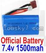FeiYue FY-02 Spare Parts-35-01 FY-7415 Official 7.4V 1500MAH Battery