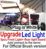 FeiYue FY-02 Spare Parts-42-05 Upgrade Front and Rear light assembly-Can only be used for Official version,Plug is white