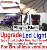 FeiYue FY-02 Spare Parts-42-06 Upgrade Front and Rear light assembly-Can only be used for Upgrade Brushless version,Plug is Black