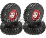 FeiYue FY-02 Spare Parts-43-01 FY-CL01 Whole Wheel assembly(4pcs)
