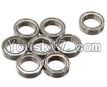 FeiYue FY-02 Spare Parts-61-02 W12046 Ball bearing(8pcs)-12X8X3.5mm