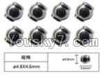FeiYue FY-02 Spare Parts-63-01 W12056 Ball head sleeve(8pcs)-4.8X4.6mm
