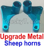 FeiYue FY03 Parts-15-02 F12034-035 Upgrade Metal sheep horns(2pcs)