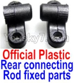 FeiYue FY03 Parts-17-01 F12040-041 Official Plastic Rear connecting rod fixed parts(2pcs)