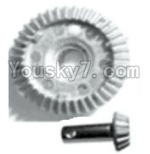 FeiYue FY03 Parts-24 transmission fan-shap gear