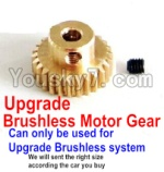 FeiYue FY03 Parts-25-08 Upgrade Motor gear(Can only be used for Upgrade Brushless set,We will according the car you buy to sent you the right version size)