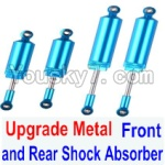 FeiYue FY03 Parts-32-01 Upgrade Metal Front and Rear Shock Absorber(Total 4pcs)