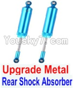 FeiYue FY03 Parts-32-03 Upgrade Metal Rear Shock Absorber(2pcs)