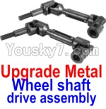 FeiYue FY03 Parts-34-02 FY-CD01 Upgrade Metal Wheel shaft drive assembly(2 set)