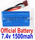 FeiYue FY03 Parts-35-01 FY-7415 Official 7.4V 1500MAH Battery