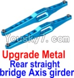 FeiYue FY-04 Spare Parts-12-02 Upgrade Metal Rear straight bridge Axis girder for the Rear Swing Arm(2pcs)