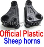 FeiYue FY-04 Spare Parts-15-01 F12034-035 Official Plastic sheep horns(2pcs)