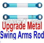 FeiYue FY-04 Spare Parts-21-10 F12028 Upgrade Metal Swing Arms Rod(2pcs)