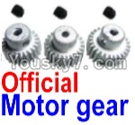 FeiYue FY-04 Spare Parts-25-01 FY-T22 T24 T26 Official Motor Gear(3pcs)