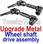 FeiYue FY-04 Spare Parts-34-02 FY-CD01 Upgrade Metal Wheel shaft drive assembly(2 set)