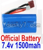 FeiYue FY-04 Spare Parts-35-01 FY-7415 Official 7.4V 1500MAH Battery