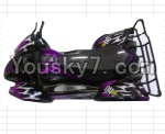 FeiYue FY-04 Spare Parts-42-03 FY-CK04 Whole desert Car canopy Assembly,desert Shell Assembly-Purple