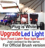 FeiYue FY-04 Spare Parts-42-07 Upgrade Front and Rear light assembly-Can only be used for Official version,Plug is white