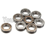 FeiYue FY-04 Spare Parts-61-01 W12045 Ball bearing(8pcs)-9X5X3mm