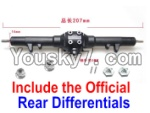 JJRC Q40 Parts-Official Whole Rear Gear box Assembly