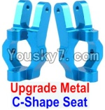 JJRC Q40 Parts-Upgrade Metal C-Shape Seat(2pcs)-Blue