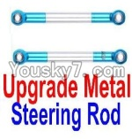 JJRC Q40 Parts-F12027 Upgrade Metal Steering Rod(2pcs)