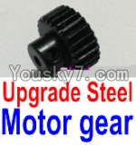 JJRC Q40 Parts-FY-T22 T24 T26 Upgrade Steel Motor Gear(1pcs)