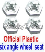 JJRC Q40 Parts-W12006 Hexagonal wheel seat(4pcs)