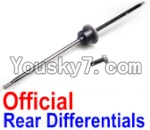 JJRC Q40 Parts-FY-HCS01 Rear Differentials Assembly