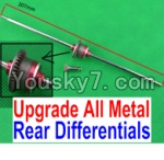 JJRC Q40 Parts-Upgrade All Metal Rear Differentials Assembly
