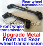 JJRC Q40 Parts-FY-CD03 Upgrade Metal Front and Rear wheel transmission assembly(2 set)