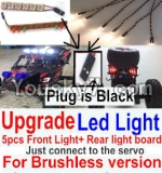 JJRC Q40 Parts-Upgrade Front and Rear light assembly-Can only be used for Upgrade Brushless version,Plug is Black