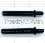 JJRC Q40 Parts-Column for the Car canopy(2pcs)-Short-52mm