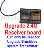 FeiYue FY-11 Parts- Upgrade 2.4G Receiver board(Can only be used for Upgrade Brushless set,You must buy the upgrade Transmitter together to use for Upgrade Brushless set)